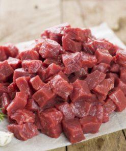 Grass Fed Diced Braising Steak - 500g
